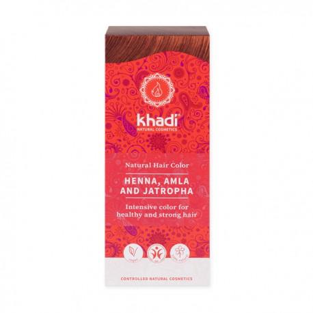 Khadi naturalna henna z amlą i jatrophą