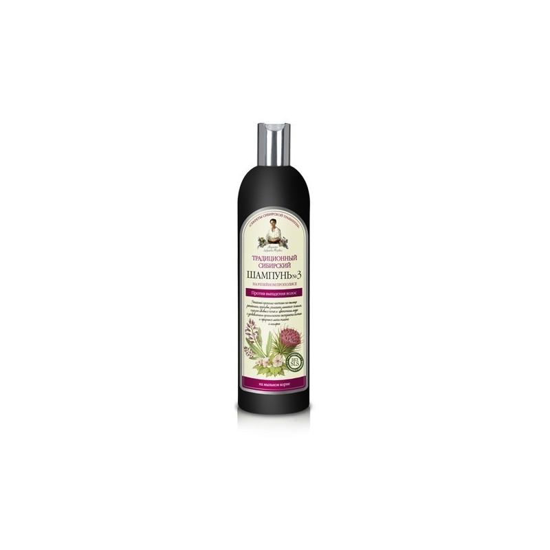 Recepury Babuszki Agafii - szampon przeciw wypadaniu włosów na łopianowym propolisie No3