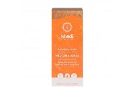 Khadi henna średni blond - z jasnego blondu na średni blond