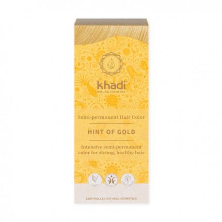 Khadi – henna złoty blond - pomysł na złote włosy