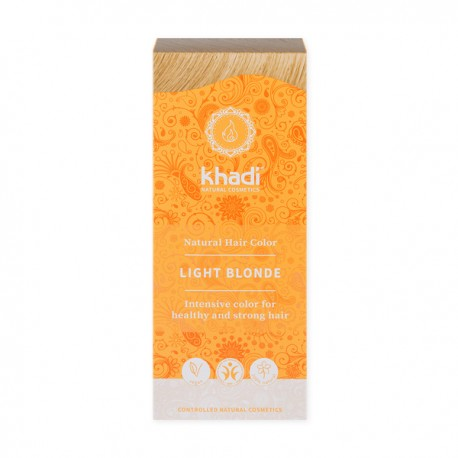 Henna khadi jasny blond - Sprawdź jak rozjaśnić henne na włosach