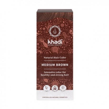 Henna khadi średni brąz - piękne i zdrowe włosy