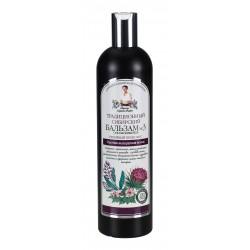 Receptury Babuszki Agafii – syberyjski balsam przeciw wypadaniu włosów Nº 3 na łopianowym propolisie