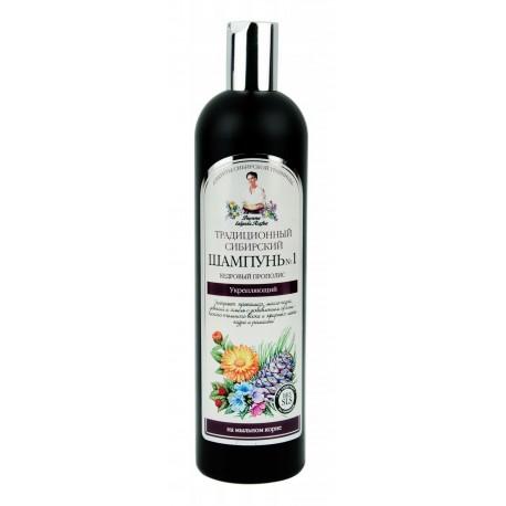 Recepury Babuszki Agafii - szampon wzmacniający na cedrowym propolisie No1