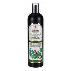 Receptury Babuszki Agafii – syberyjski szampon regenerujący Nº 2 na brzozowym propolisie
