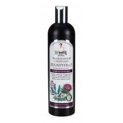 Receptury Babuszki Agafii – syberyjski szampon przeciw wypadaniu włosów Nº 3 na łopianowym propolisie