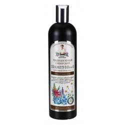 Receptury Babuszki Agafii – syberyjski szampon puszystość i lekkość w układaniu Nº 4 na kwiatowym propolisie