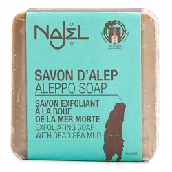 Najel - mydło Aleppo z błotem z Morza Martwego