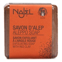 Najel – mydło Aleppo z czerwoną glinką