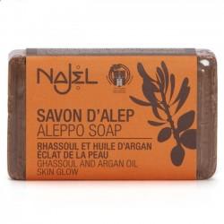 Najel - Mydło Aleppo z glinką rhassoul i olejem arganowym