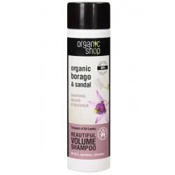 """Organic Shop – organiczny szampon do włosów """"Skarby Sri Lanki"""" – objętość"""