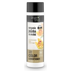 """Organic Shop – balsam do włosów farbowanych """"Złota orchidea"""""""