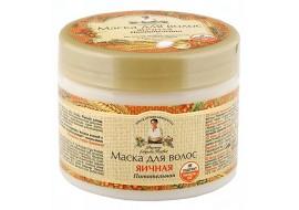 Receptury Babuszki Agafii – maska do włosów jajeczna – odżywcza