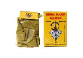 henna sahara tazarine - Ogniste włosy w kilku prostych korkach.
